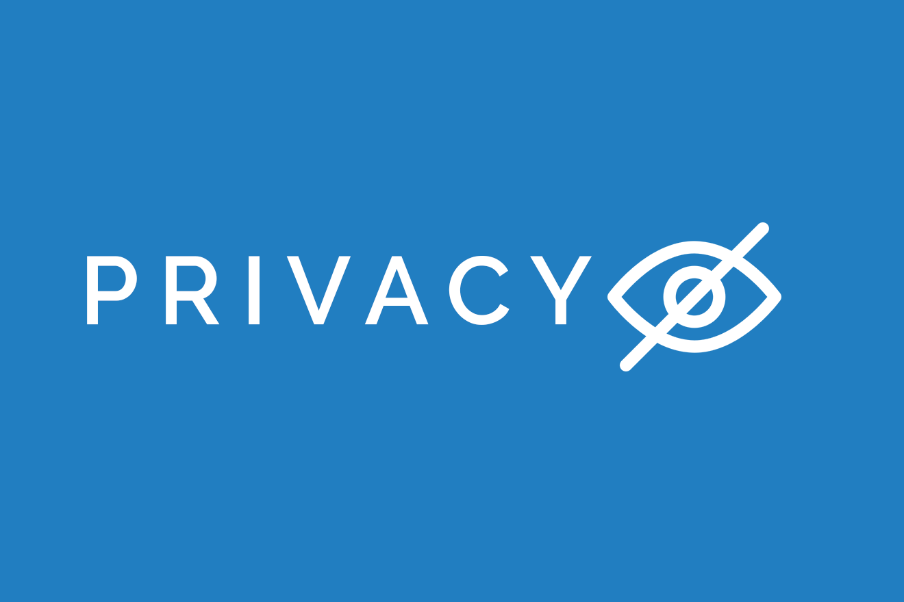 Graphic picture depicting privacy