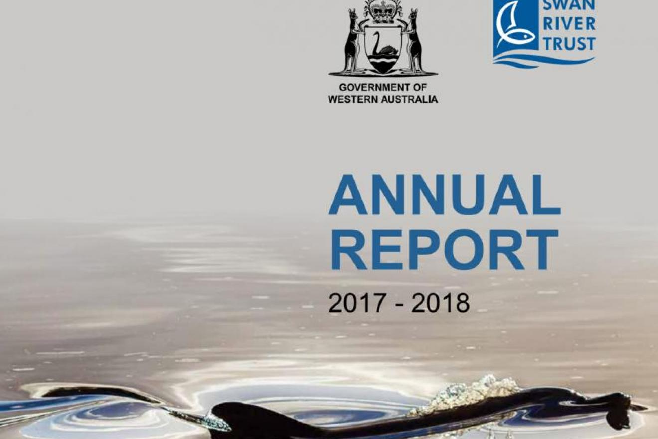 Annual Report 2017-18 cover SRT