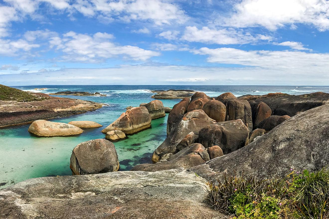 Elephant Rocks at William Bay National Park. Photograph by Shem Bisluk