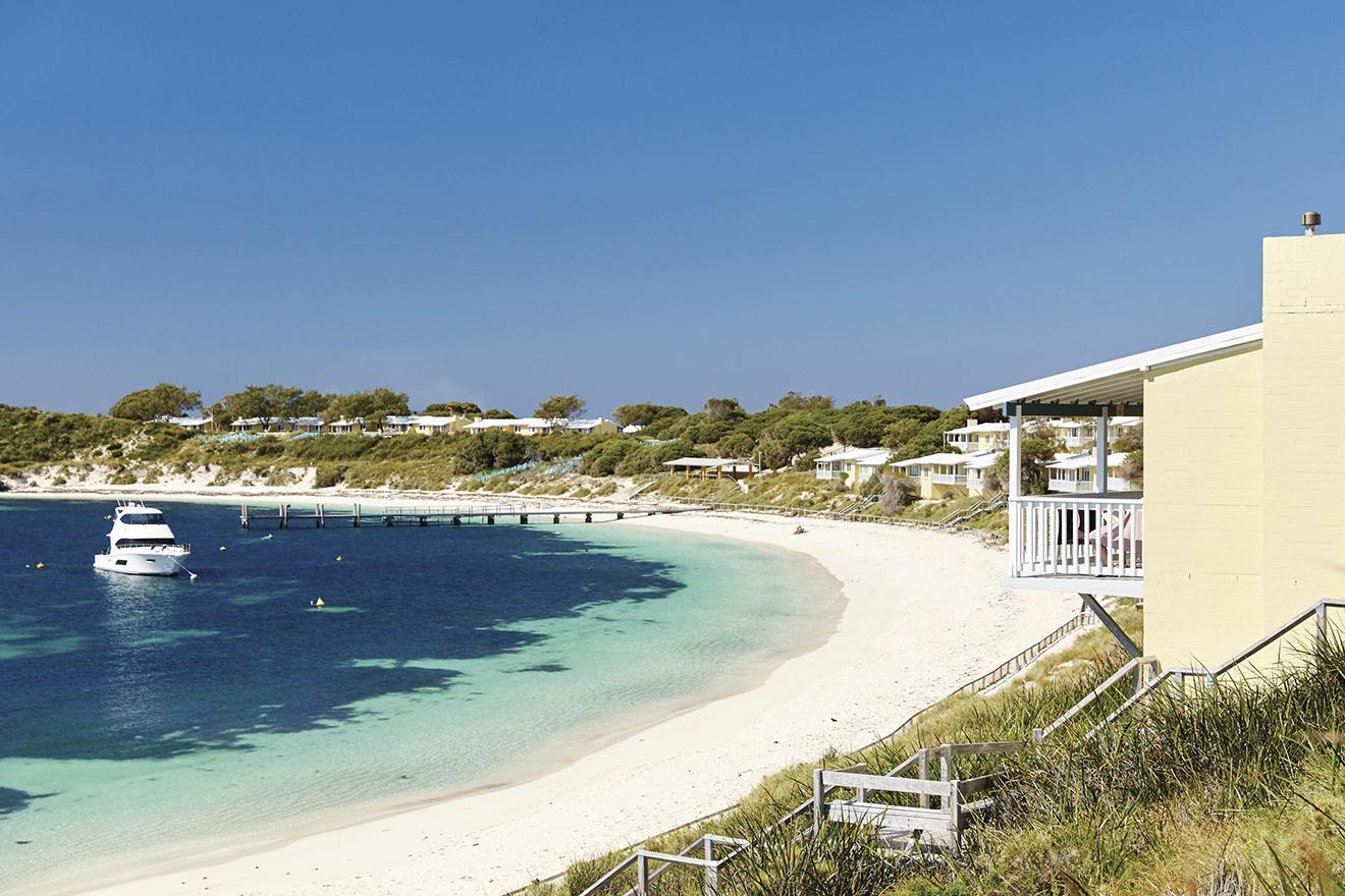 Geordie Bay at Rottnest Island. Photo by Rottnest Island Authority