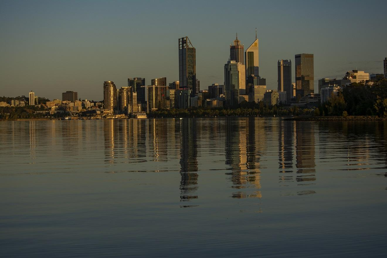 Swan River and Perth CBD, Photo: Parks and Wildlife Service