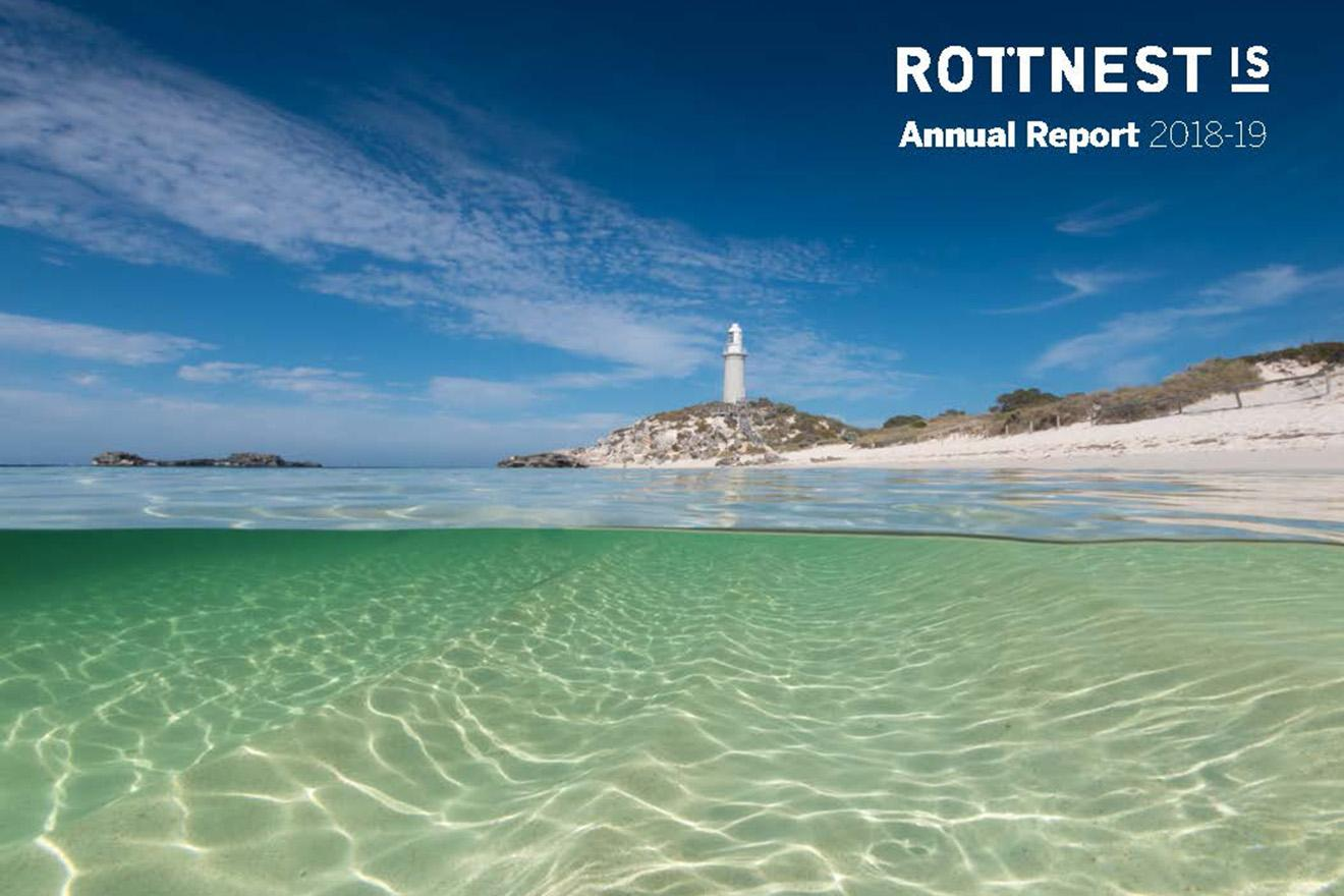 Rottnest Island Authority Annual Report 2018-19.cover