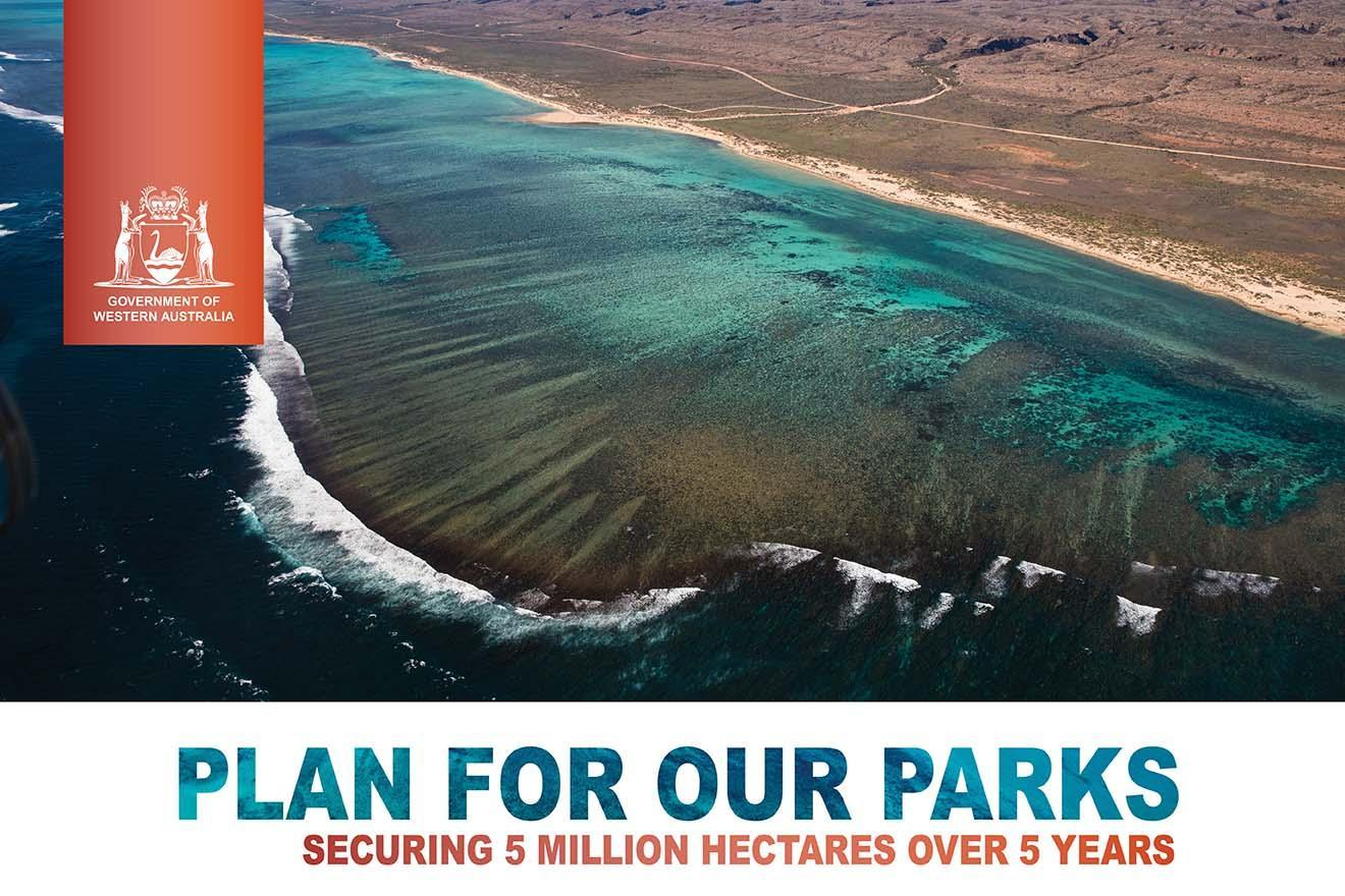 Plan for our Parks - securing five million hectares over five years