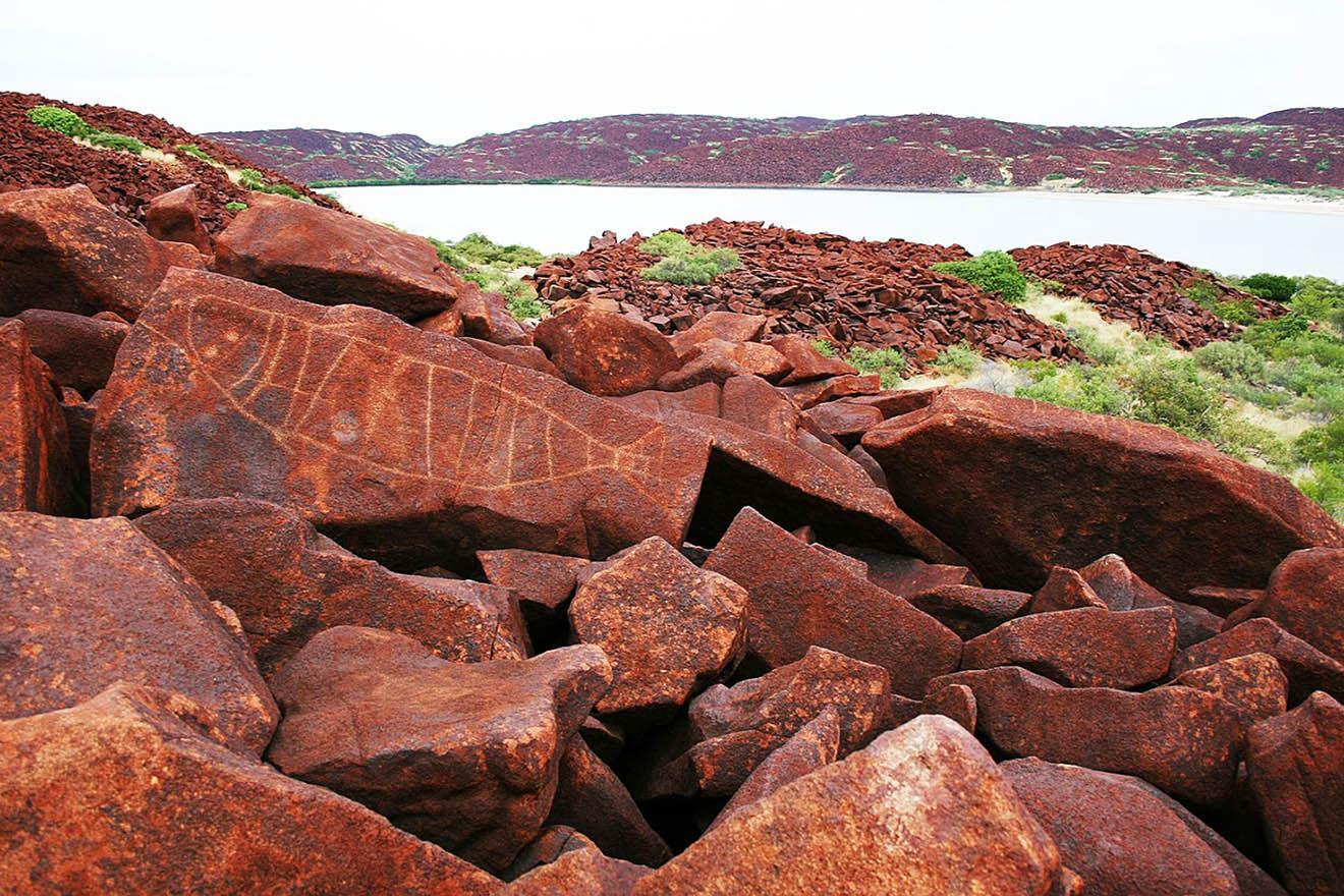 Proposed Murujuga World Heritage Area. Photo by Murujuga Aboriginal Corporation