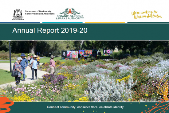 BGPA Annual report cover image